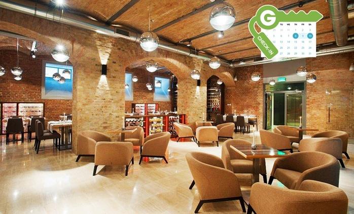 Gdańsk: pobyt dla 1 lub 2 osób ze śniadaniami lub wyżywieniem w Q Hotel Grand Cru Gdańsk 4*