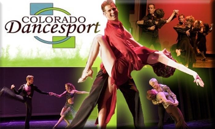 Colorado Dancesport  - Littleton: $30 Introductory Dance Package at Colorado Dancesport