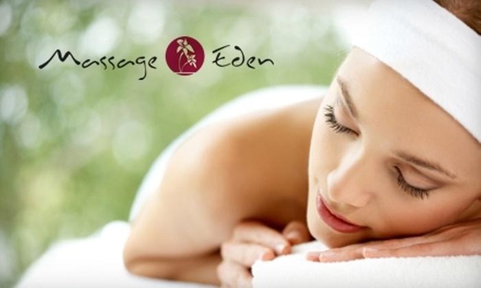 Massage Eden - North Association: $45 for a 60-Minute Massage at Massage Eden in Miramar (Up to $90 Value)