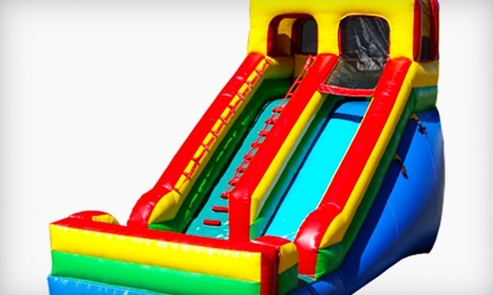 Kidz Ultimate Party Zone - Flour Bluff: $39 for One Month of Unlimited Bounce Sessions for Two Children at Kidz Ultimate Party Zone ($240 Value)