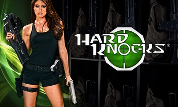 Hard Knocks - Oviedo: $99 for a Four-Hour Laser-Tag Rental Package from Hard Knocks in Oviedo ($199 Value)