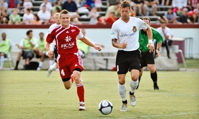 Richmond Kickers - Stadium: $20 for Four Richmond Kickers Tickets (Up to $48 Value). Four Games Available.