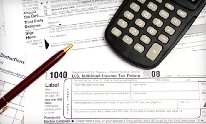 1800Accountant.com - North Davis: Personal or Business Tax Preparation at 1800Accountant.com (75% Off)