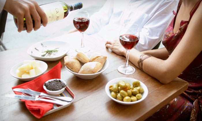 The Hidden Vine Wine Bar and Lounge - South West: Italian Lunch or Dinner at The Hidden Vine Wine Bar and Lounge in Newington (Half Off). Three Options Available.