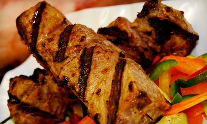 Nu Sanctuary Lounge - Enterprise: $15 for $35 Worth of Mediterranean Fare and Drinks at Nu Sanctuary Lounge