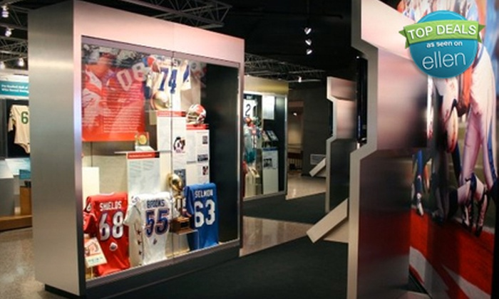 2d16067c06eab Pro Football Hall of Fame in - Canton, Ohio   Groupon