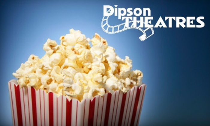 Dipson Theatres - Farmington: $15 for Two Movie Tickets, Two Medium Drinks, and One Large Popcorn at West River Theatre in Farmington Hills