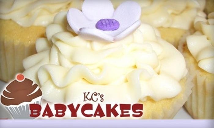 KC's Babycakes - Mandeville: $7 for One Half-Dozen Gourmet Cupcakes at KC's Babycakes
