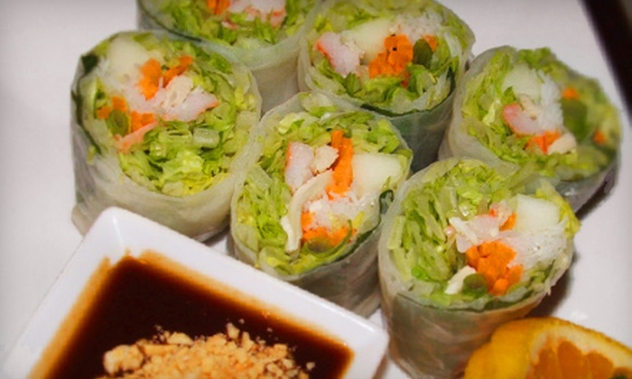 Siam First - Boston: $20 for $40 Worth of Authentic Thai Fare at Siam First in South Weymouth