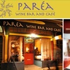 $15 for $35 Groupon to Parea Wine Bar