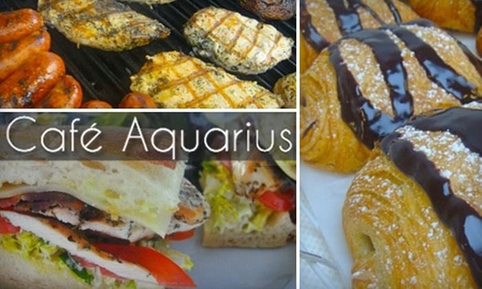 Café Aquarius - Emeryville: $10 for $20 Worth of Breakfast, Lunch, and Brunch Fare at Café Aquarius in Emeryville