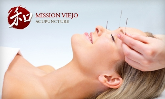 Mission Viejo Acupuncture - Mission Viejo: $29 for Consultation and Treatment Session at Mission Viejo Acupuncture ($125 Value)