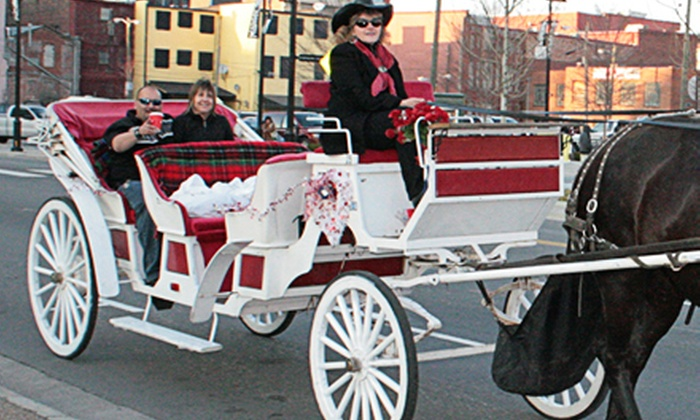 Sugar Creek Carriages - Downtown Nashville: $29 for a Romantic Carriage Ride from Sugar Creek Carriages ($50 Value)