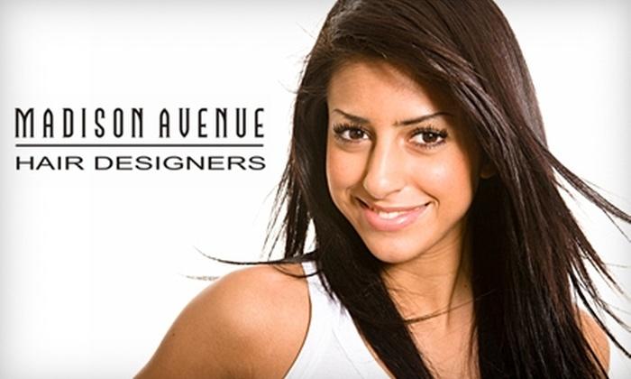 Madison Avenue Hair Designers - Highway 11: $19 for a Shampoo, Scalp Massage, Cut, and Style at Madison Avenue Hair Designers (a $44.80 Value)
