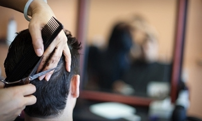 18|8 Men's Haircare and Grooming Centers - Multiple Locations: $35 for Two Executive Haircuts at 18|8 Men's Haircare and Grooming Centers ($74 Value)