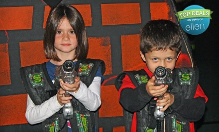 Indoor-Activity Package Including 2 Games of Laser Tag, 4 Batting-Cage Rounds, and 100 Arcade Tokens (a $39 value) - Xtreme Fun Center in Largo