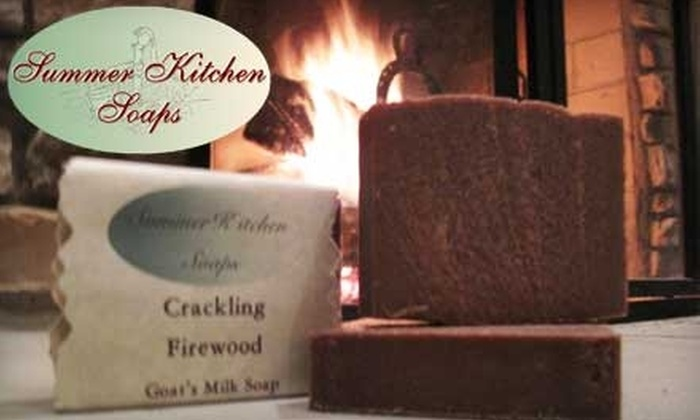 Summer Kitchen Soaps: $5 for $10 Worth of Eco-Friendly Soaps and Merchandise from Summer Kitchen Soaps