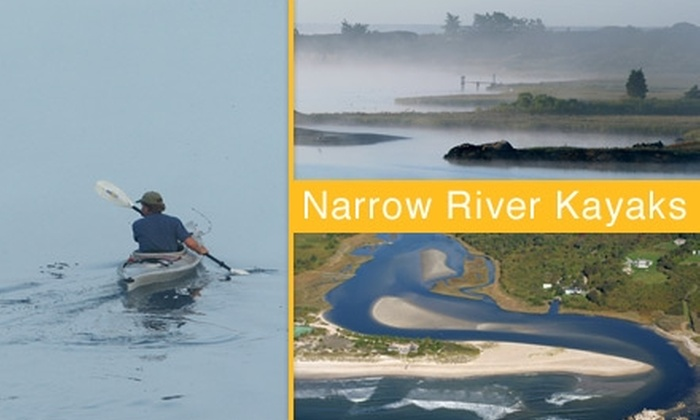 Narrow River Kayaks - Narragansett: $25 for a Four-Hour Rental from Narrow River Kayaks (Up to $55 Value)
