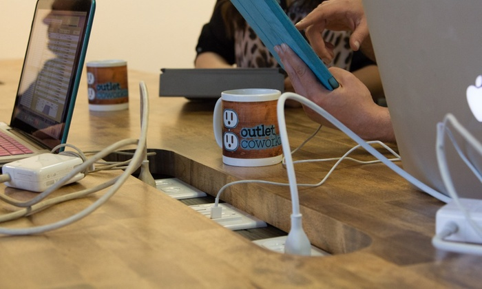 Outlet Coworking - Midtown: $69 for $125 Groupon — Outlet Coworking