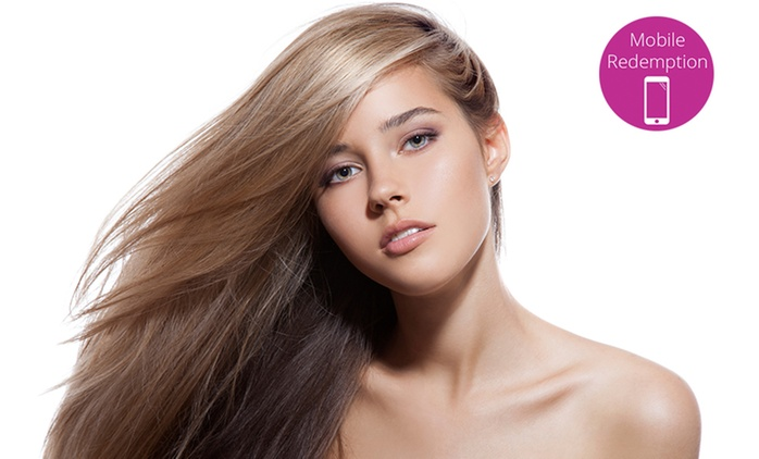 $89 Keratin Hair Straightening Treatment or $99 to Include Argan Oil from Urban Edge Hair & Beaute (Up to $489 Value)