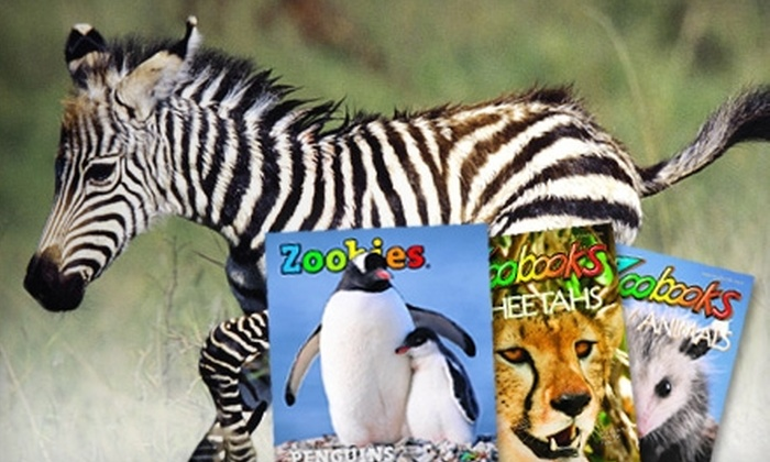"""""""Zoobooks"""" Magazine : $15 for a One-Year Subscription to """"Zoobooks,"""" """"Zoobies,"""" or """"Zootles"""" Magazine ($29.95 Value)"""