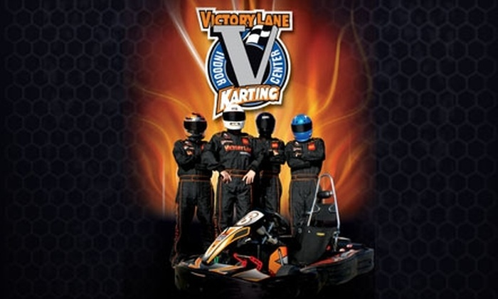 Victory Lane Karting - J.T. Williams: One-Year Membership Plus Three 10-Minute Races at Victory Lane Karting. Choose Between Two Age Groups.