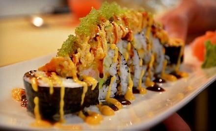 $20 Groupon to Asnan Sushi Bar and Asian Cuisine - Asnan Sushi Bar and Asian Cuisine in Wilmington