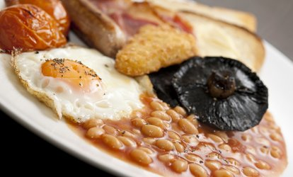 image for Saturday Ulster Fry Breakfast with Tea or Coffee for Two or Four at Thyme Deli – Church Lane