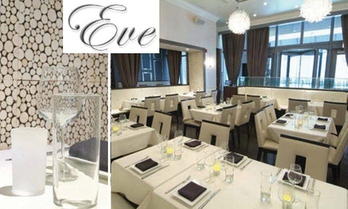 Eve - Near North Side: $25 for $55 Worth of Inventive American Cuisine at Eve