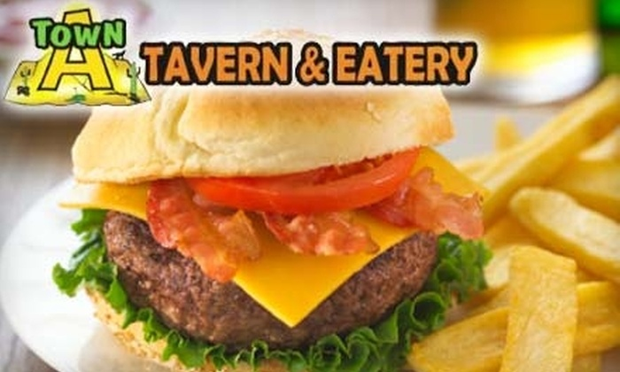 A Town Tavern & Eatery - Mountain Park Ranch: $10 for $20 Worth of Pub Fare and Drinks at A Town Tavern & Eatery