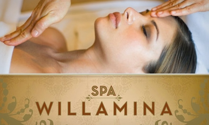 Spa Willamina - Grant Park - Hollywood: $50 for One of Two Custom Spa Packages at Spa Willamina ($125 Value)
