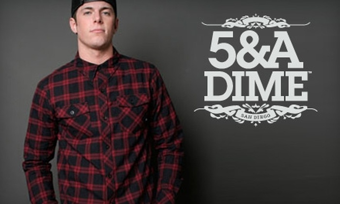 5&A Dime - Core-Columbia: $20 for $50 Worth of Men's Apparel and More at 5&A Dime