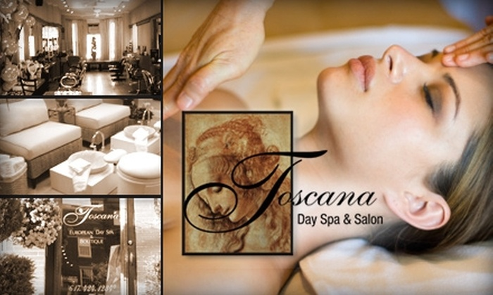 Toscana European Day Spa - Back Bay: $60 for $120 Worth of Facials and Hair Services at Toscana European Day Spa