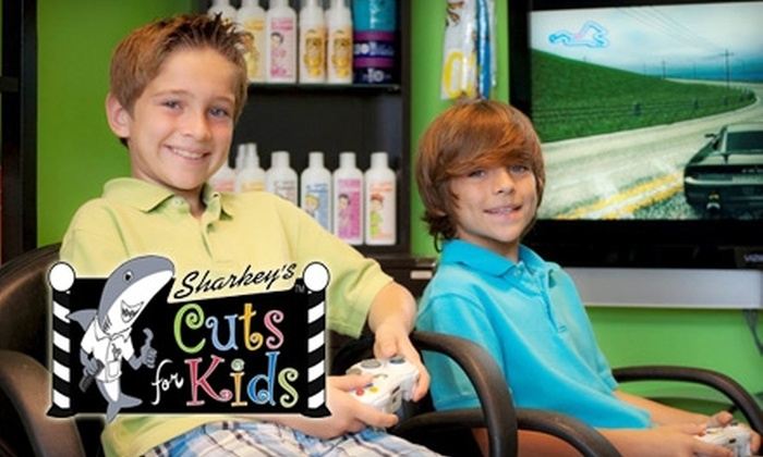 Sharkeys Cuts For Kids In San Antonio Texas Groupon