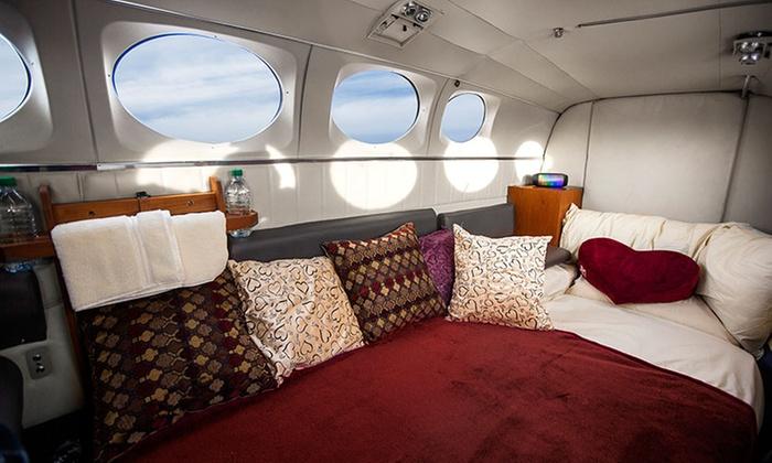 Love Cloud Vegas - Paradise: $599 for a 45-Minute Romance Flight Above Las Vegas from Love Cloud Vegas
