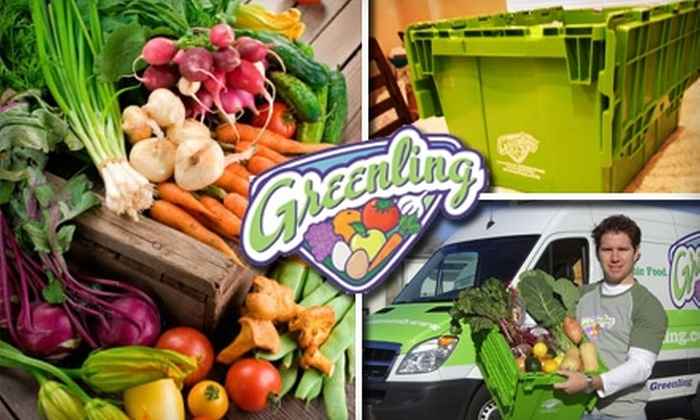 Greenling Grocery Delivery - San Antonio: $25 for $50 Worth of Organic Groceries Delivered to Your Door by Greenling