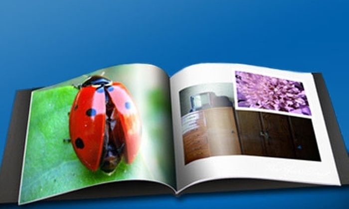 """A&I Books : $10 for an 8""""x8"""" Soft-Cover Photo Book from A&I Books ($30 Value)"""