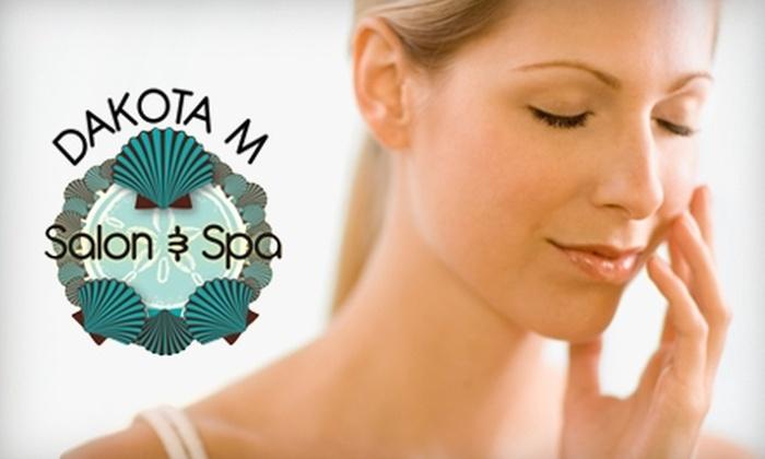 Dakota M Salon and Spa - Northeast Virginia Beach: $25 for an Express Facial or Spa Pedicure at Dakota M Salon and Spa in Virginia Beach