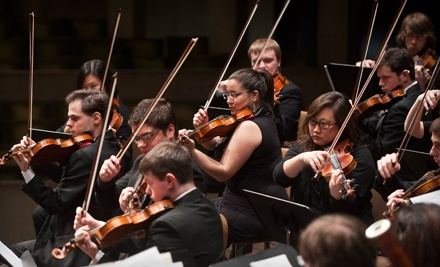 University Orchestra Concert at the Fine Arts Concert Hall on Wed., Nov. 16 at 8PM: General Seating - UMass Amherst's Department of Music & Dance in Amherst
