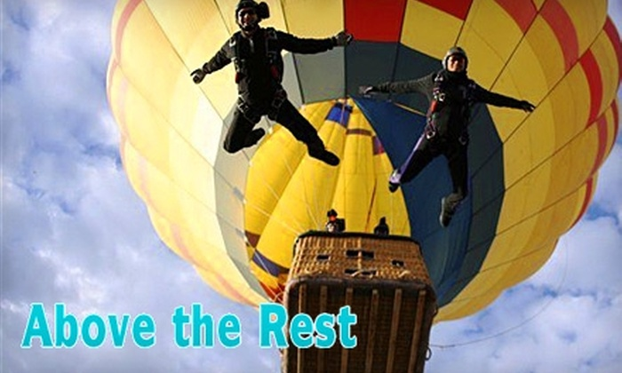 Above the Rest Hot Air Ballooning & Sky Diving  - Multiple Locations: $90 for a Hot Air Balloon Ride from Above the Rest Hot Air Ballooning & Sky Diving ($180 Value)