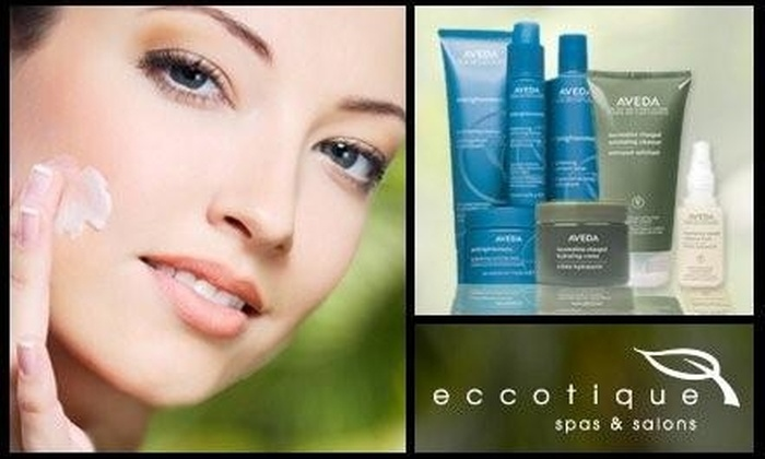 Eccotique Spas & Salons - Multiple Locations: $50 for a Beyouthful, Radiant Resurfacing, or Outer Peace Acne Relief Facial at Eccotique Spas & Salons