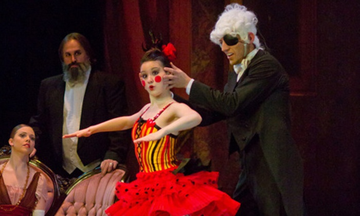 """""""The Nutcracker"""" - Multiple Locations: Two or Four Tickets to Ballet Nebraska's """"The Nutcracker"""" at Omaha Music Hall on December 4 at 2 p.m. Four Options Available."""