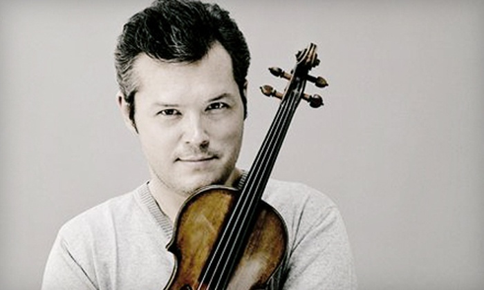 Vadim Repin and Itamar Golan - Fenway - Kenmore - Audubon Circle - Longwood: $34 for One Ticket to See Violinist Vadim Repin and Pianist Itamar Golan at Jordan Hall on March 18 (Up to $68.50 Value)