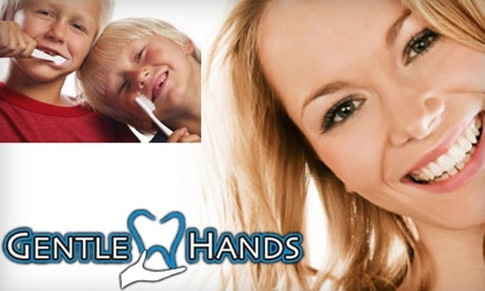 Gentle Hands Dentistry - Alhambra: $49 for a Dental Exam, X-rays, Oral-Hygiene Instructions, and Cleaning at Gentle Hands Dentistry ($484 Value)