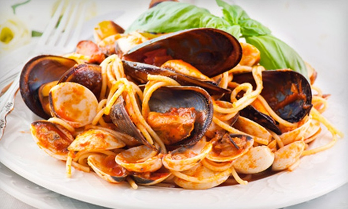 San Remo Italian Restaurant - Renaissance Commons: Italian Meal for Two or Four at San Remo Italian Restaurant in Boynton Beach (Up to 54% Off)