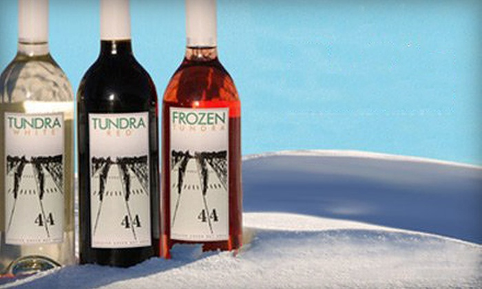 2012 Frozen Tundra Wine Fest - Franklin: $8 for a 2012 Frozen Tundra Wine Fest Outing for Two at Parallel 44 Vineyard & Winery ($20 Value)