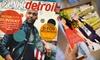 "$4 for Subscription to ""Visit Detroit"" Magazine"