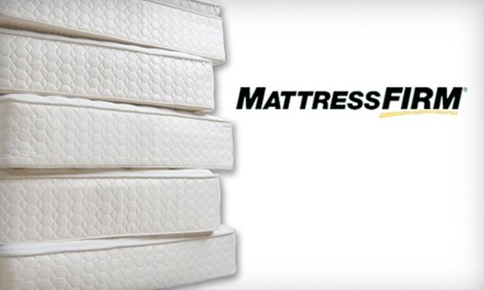 Mattress Firm - Multiple Locations: $50 for $200 Toward a Mattress at Mattress Firm