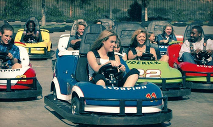 Zuma Fun Center - Sharonbrook: Go-Kart Ride and Game of Mini Golf for Two or Four at Zuma Fun Center in Pineville (Up to 57% Off)
