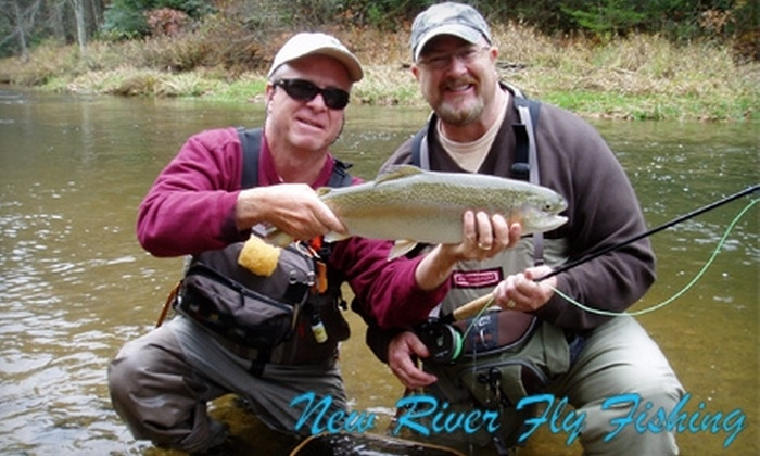 New River Fly Fishing - Roanoke: $85 for Half Day of Fly-Fishing Instruction from New River Fly Fishing